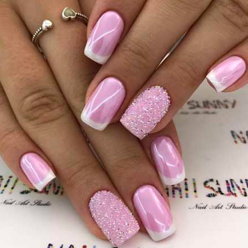 Pink Nail Art: 49 Best Nail Art Designs For 2019